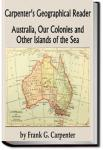 Carpenter's Geographical Reader - Australia and the Islands | Frank G. Carpenter