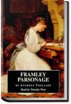 Framley Parsonage | Anthony Trollope