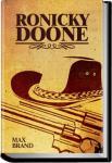 Ronicky Doone | Max Brand