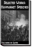 Selected Works: Haymarket Speeches | Voltairine de Cleyre