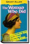 The Woman Who Did | Grant Allen