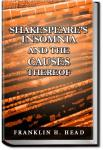 Shakespeare's Insomnia, and the Causes Thereof | Franklin H. Head