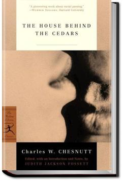 The House Behind the Cedars | Charles W. Chesnutt
