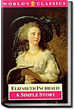 A Simple Story | Elizabeth Inchbald
