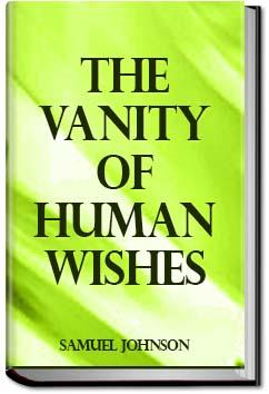 The vanity of human wishes and two rambler samuel johnson the vanity of human wishes and two rambler samuel johnson fandeluxe PDF