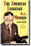 The American Language   H. L. Mencken