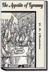 The Appetite of Tyranny | G. K. Chesterton