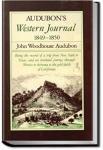 Audubon's Western Journal | John Woodhouse Audubon
