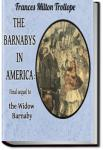 The Barnaby's in America | Frances Milton Trollope