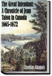 A Chronicle of Jean Talon in Canada | Thomas Chapais