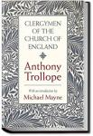 Clergymen of the Church of England | Anthony Trollope