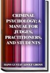 Criminal Psychology | Hans Gustav Adolf Gross