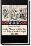 Soldier Life in the Army of Northern Virginia | Carlton McCarthy