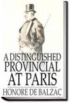 A Distinguished Provincial at Paris | Honoré de Balzac