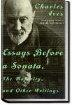 Essays Before a Sonata | Charles Ives
