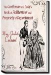 The Gentleman and Lady's Book of Politeness | Elisabeth Celnart