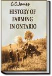 History of Farming in Ontario | C. C. James