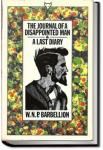 The Journal of a Disappointed Man | W. N. P. Barbellion