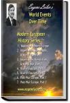 Modern European History | Eugene Lieber