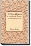 The New Organon Or True Directions Concerning The Interpretation of Nature | Francis Bacon
