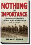 Nothing of Importance   John Bernard Pye Adams