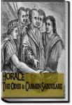 The Odes and Carmen Saeculare | Horace