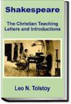 Tolstoy on Shakespeare | Leo Tolstoy