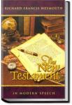 Weymouth New Testament in Modern Speech, Mark | Richard Francis Weymouth