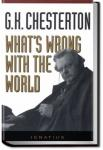 What's Wrong with the World | G. K. Chesterton