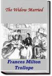 The Widow Married | Frances Milton Trollope