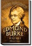 The Works of the Right Honourable Edmund Burke, Vol. 1 | Edmund Burke