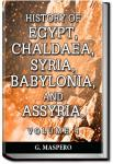 History of Egypt, Syria, Babylonia - Vol 4 | Gaston Maspero
