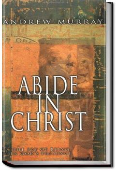 Abide in Christ | Andrew Murray