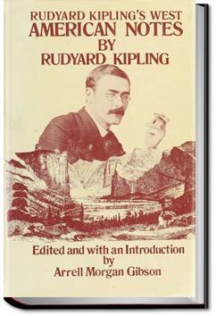 American Notes | Rudyard Kipling
