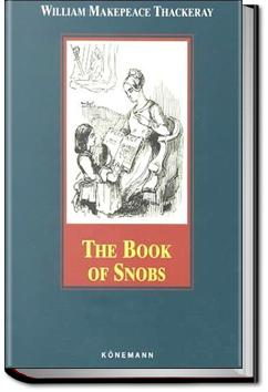The Book of Snobs | William Makepeace Thackeray