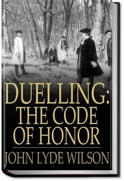 The Code of Honor | John Lyde Wilson
