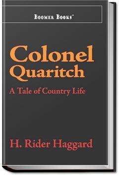 Colonel Quaritch, V.C. | Henry Rider Haggard