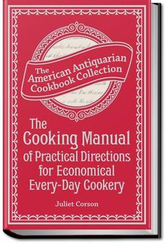 The Cooking Manual | Juliet Corson