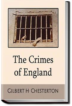 The Crimes of England | G. K. Chesterton