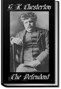 The Defendant | G. K. Chesterton