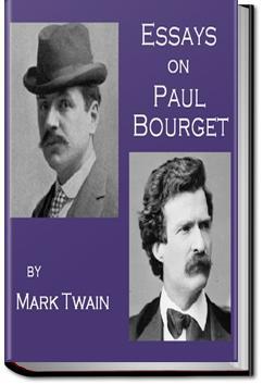 Essays on Paul Bourget | Mark Twain