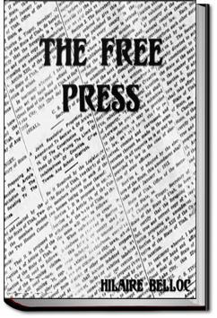 The Free Press | Hilaire Belloc