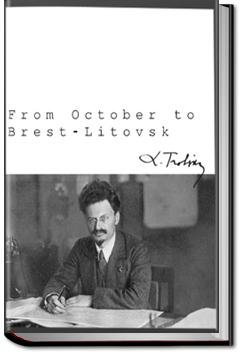 From October to Brest-Litovsk | Leon Trotsky