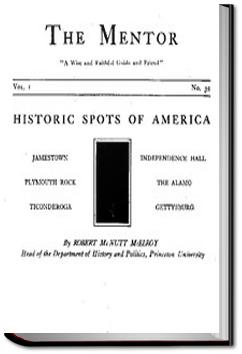 The Mentor: Historic Spots of America | Robert McNutt McElroy