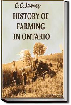 History of Farming in Ontario | C. C. James