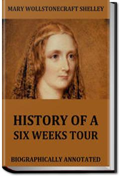 History of a Six Weeks' Tour | Percy Bysshe Shelley and Mary Shelley