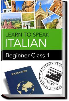 Italian - Beginner - Class 1 | Learn to Speak