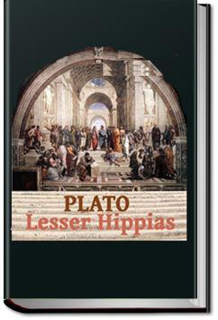 Lesser Hippias   Plato