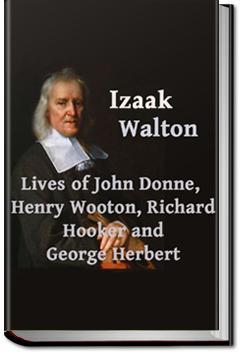 Lives of John Donne, Henry Wotton, Richard Hooker, | Izaak Walton