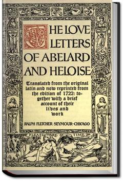 abelard and heloise letters the letters of abelard and heloise abelard 16674